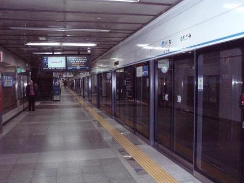 韓国での地下鉄事故は日常茶飯事