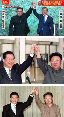 北チョンに踊らされてばかりのバ韓国