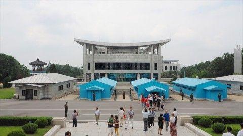 朝鮮半島の板門店から武器弾薬が撤去される