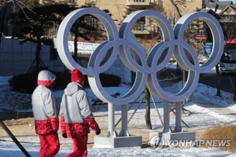ノロウイルス感染拡大中のバ韓国平昌冬季五輪