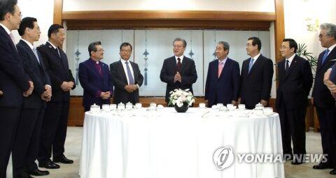 宗教弾圧に乗り出したバ韓国の文大統領