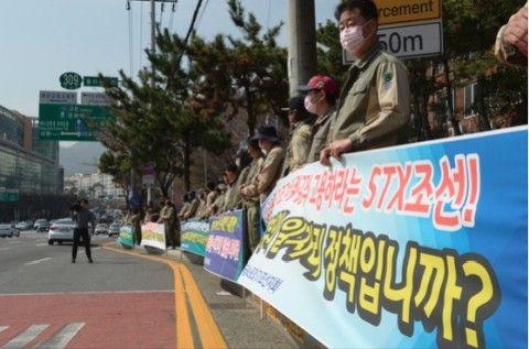 リストラが続くバ韓国の現代重工業