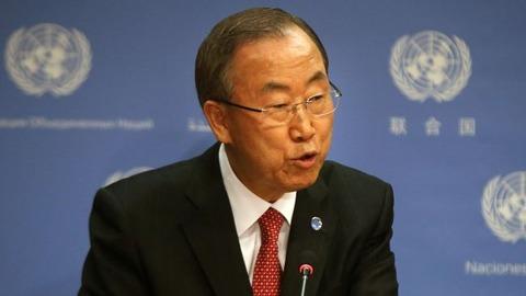 バ韓国塵のレイプ犯罪を容認している潘基文事務総長