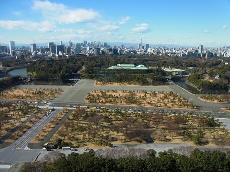 皇居−新宿