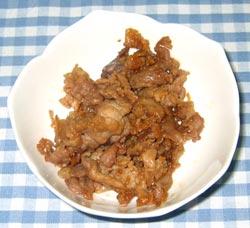 豚肉の時雨煮