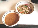 えび子みそつけ麺