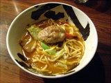 海老汁焼そば 麺を海老のスープに!