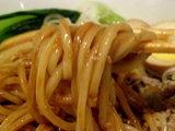 ジャージャー麺 麺のアップ