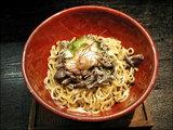 いちじくとゴーヤのブラックセサミ〜黒味噌のジュレ 980円