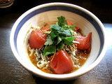 九段 斑鳩 冷やし坦々麺 残暑のトマト風味