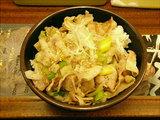 豚塩丼 600円