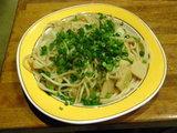 桜海老と春キャベツ (葱・長ねぎ) 560円
