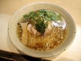 秋の醤油そば 〜軍鶏出汁〜 850円