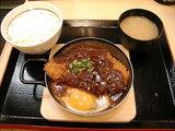 みそ煮カツ鍋定食 819円