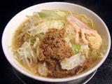 さかな梵天(汐味) 細麺 野菜 ニンニク 750円