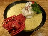 海老の乳麺 1500円