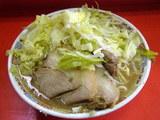 ぶた入りラーメン 600円 + 野菜ニンニク