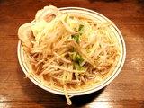 基乃らーめん 650円 野菜中盛・ニンニク
