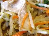 野菜炒め定食 アップ画像