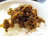 小ライス on 辛子高菜