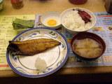 サバの塩焼き定食 500円