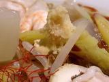 海鮮タンメン秋味 生姜がトッピング