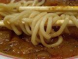 新宿タンメン 麺のアップ