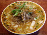 味噌牛すじ麺(辛さあり) 1100円
