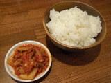 ライス<キムチ付>食べ放題 50円