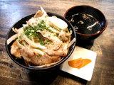 豚竹 トントロねぎ塩丼