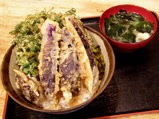 春菊野菜丼 500円