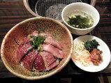 牛とろ炙り丼 980円