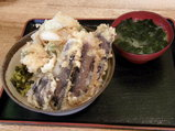 玉ネギ野菜丼 500円