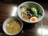冬の味噌つけ麺