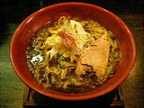 烈黒味噌担麺 大盛 790円