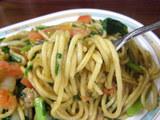 ジャリコ 麺のアップ