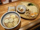 穴子スダチ醤油つけ麺 980円