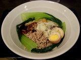 ジャージャー麺 850円 + 味玉 100円