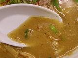 太煮干しラーメン スープのアップ