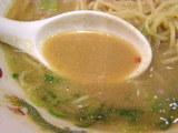 中華そば 超こってり スープのアップ
