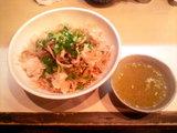 煮干しの油そば 〜醤油味〜 750円