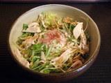 『大地の味噌』〜冷製サラダ風混ぜ麺〜 並盛 900円