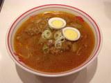 インドラーメン 味噌スープ 800円