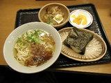 朝うどん定食 350円