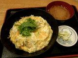 塩親子丼 680円