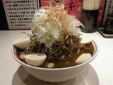 黒・味噌卵麺 1000円