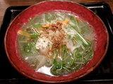 スピルリナの野菜系らぁ麺 780円