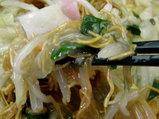 皿うどん 揚げ麺のシットリ状態