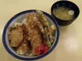 カレーな天丼 580円