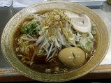 貝柱ラーメン(ホタテ) 880円 + 味玉 + 青唐辛子
